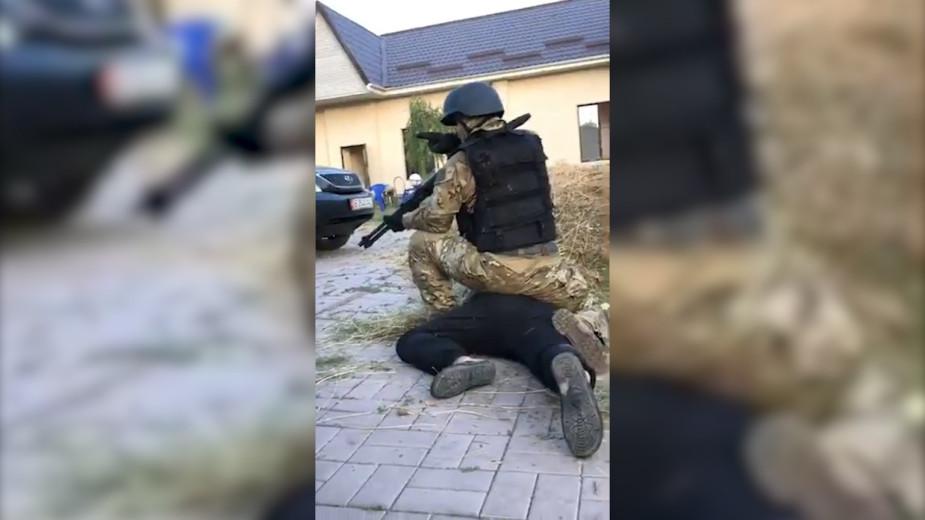 Появилось видео штурма дома бывшего президента Киргизии