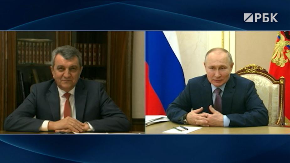 Путин назначил экс-губернатора Севастополя главой Северной Осетии