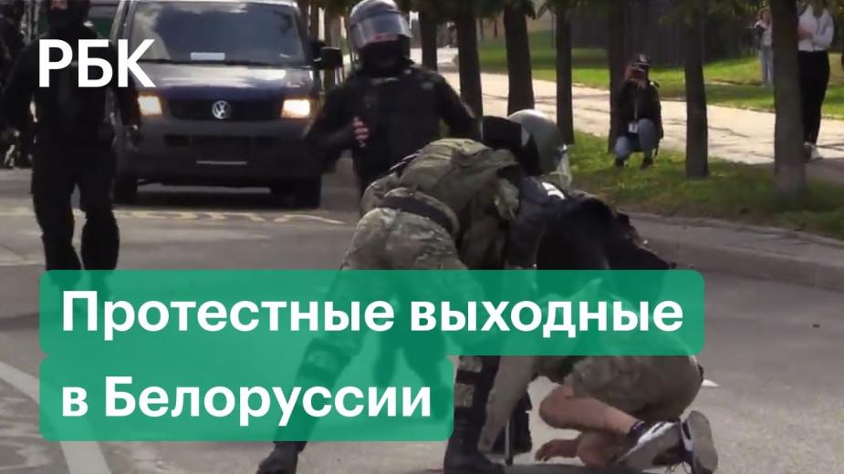 В Минске начались задержания участников «Марша справедливости»