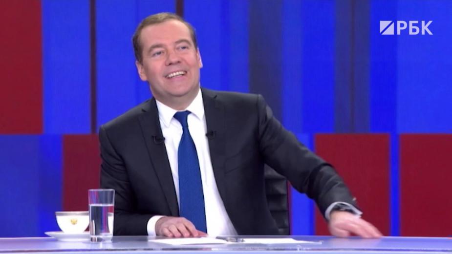 Медведев ответил «Яндекс» у нас один» на вопрос о