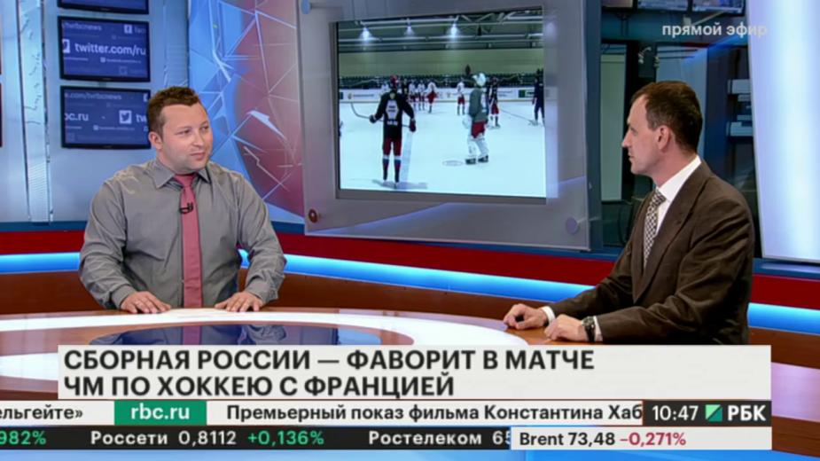 Вворотах сборной Российской Федерации похоккею вматче сФранцией сыграет Кошечкин
