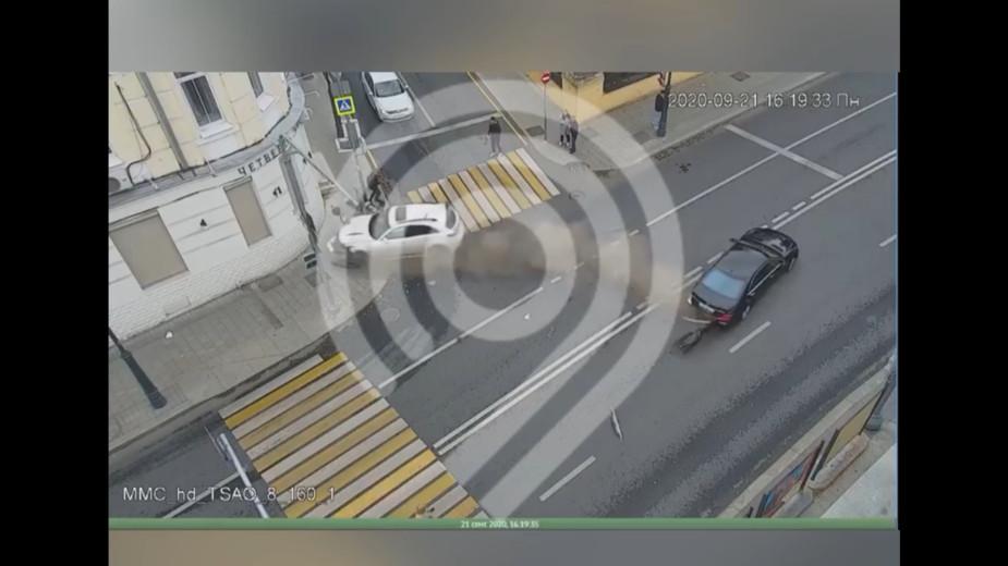 Видео: Дептранс.Оперативно/Telegram