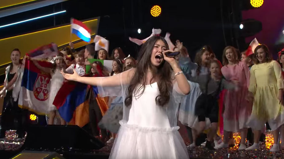 Видео: Junior Eurovision Song Contest / YouTube