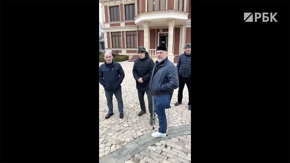 Видео: часть видео Рамзан Кадыров Live / ‹‹ВКонтакте››