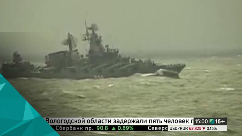Крейсер «Адмирал Кузнецов» примет участие в операции против террористов