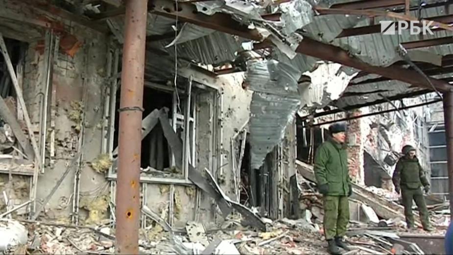 Семь лет вооруженного конфликта на юго-востоке Украины. Видео