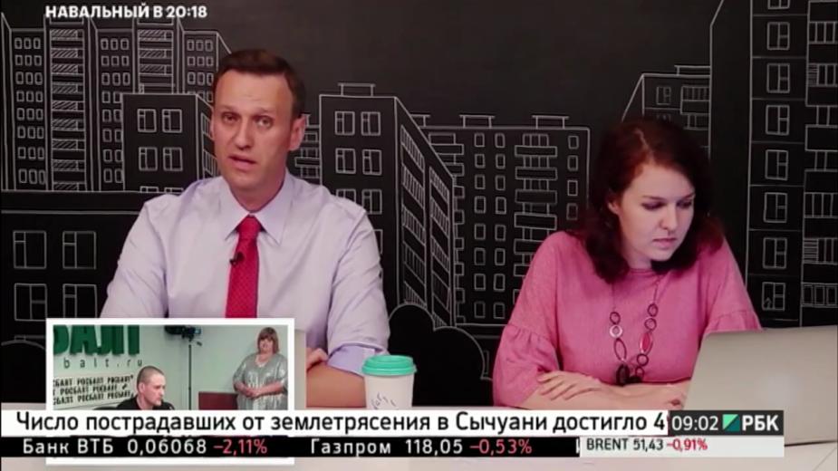 Навальный ответил Удальцову