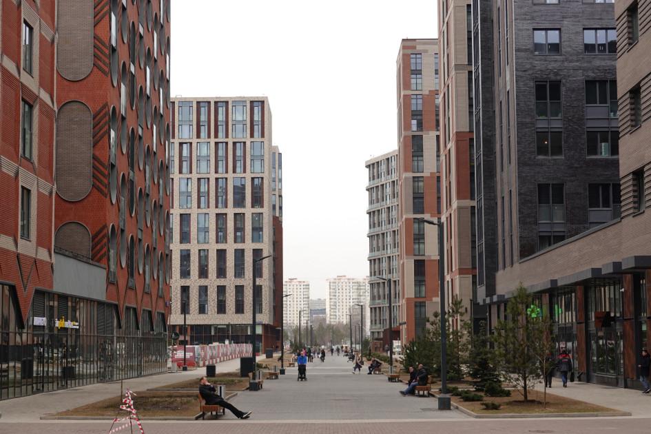 Новостройки жилого комплекса «ЗИЛАРТ» на месте бывшей промзоны