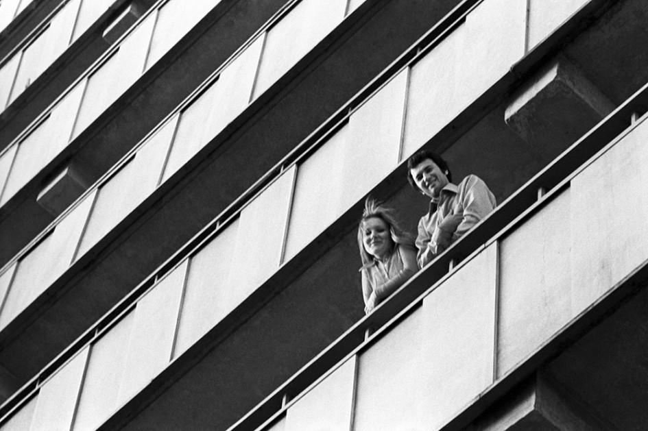 Микрорайон Химки-Ховрино, 1977 год. На снимке: новоселы
