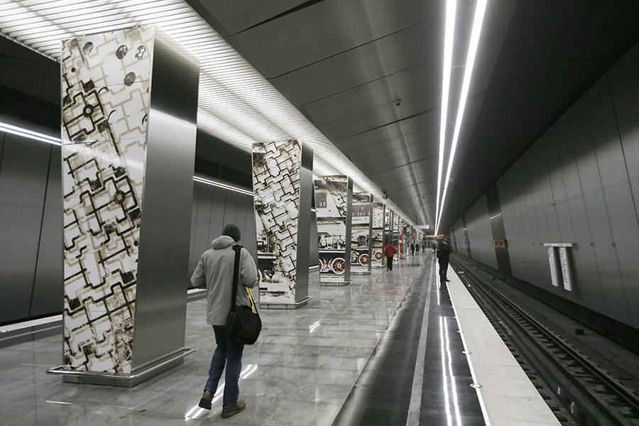 Станция «Минская»