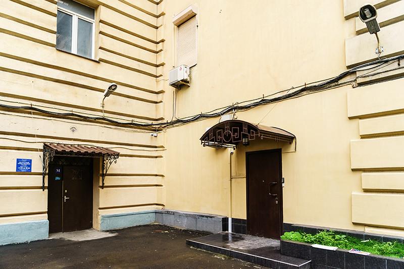 Здание, гдерасполагался «офис» Сафоничева, на московской улице Большая Дорогомиловская