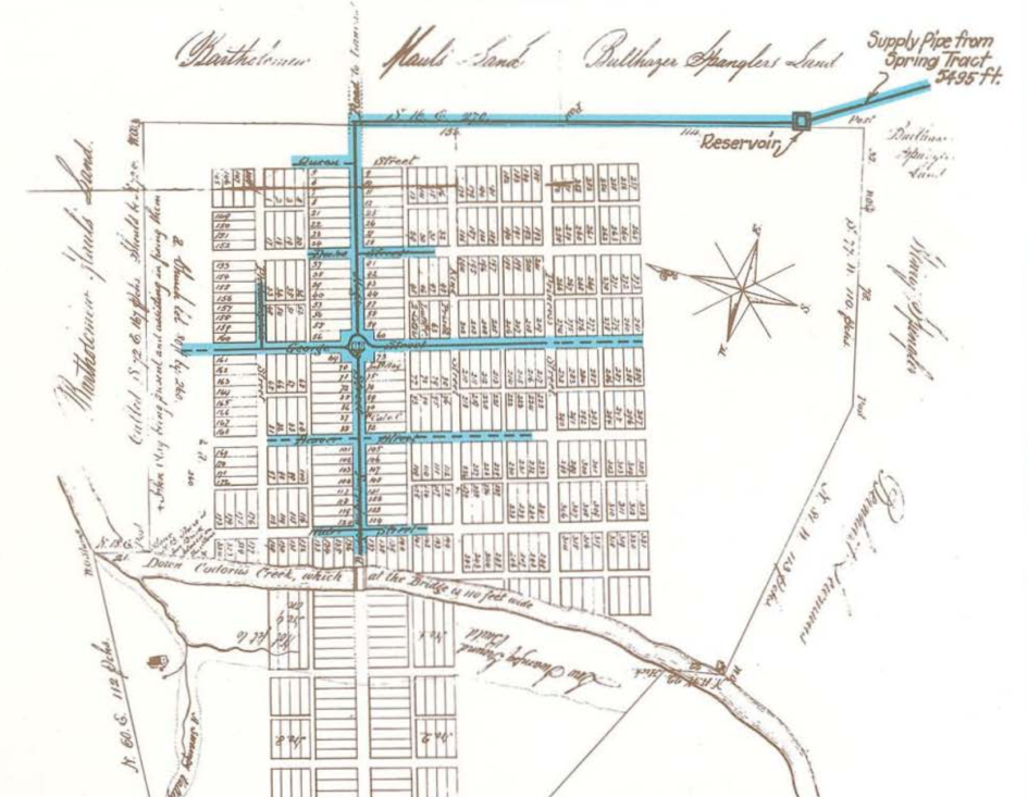 Водопровод York Water в1816 году