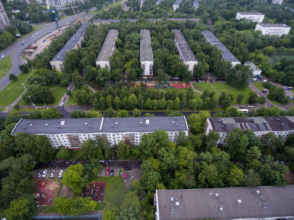 Пятиэтажки в Бескудниковском районе Москвы