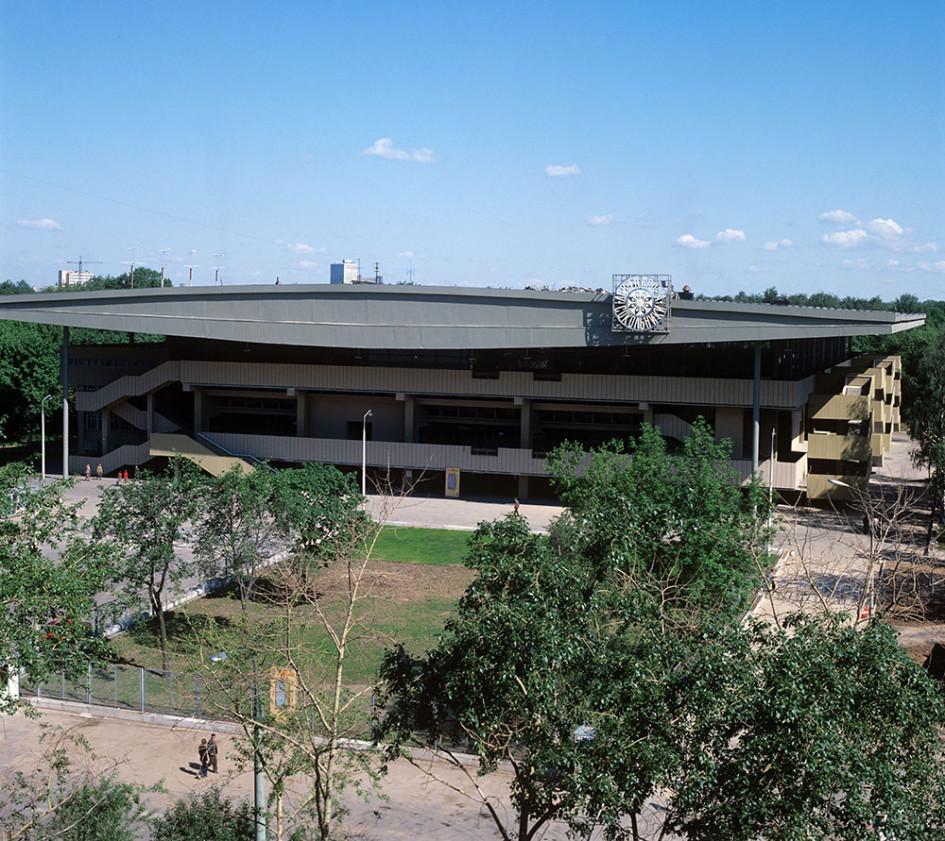 Дворец спорта «Сокольники» в Москве. 1980 год