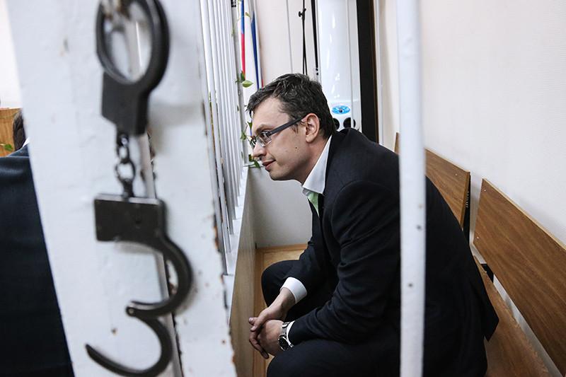 Первый заместитель Главного следственного управления Следственного комитета России по Москве Денис Никандров