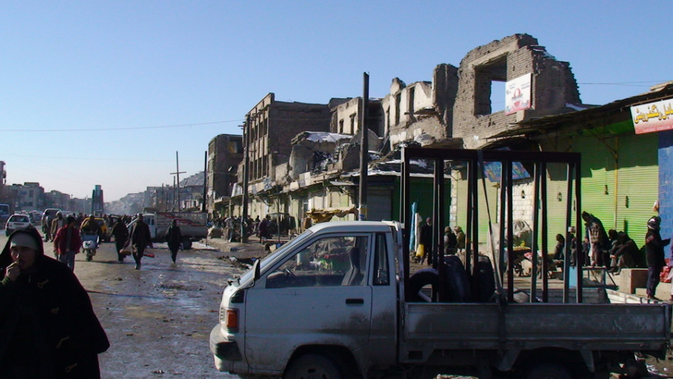Проспект Майванд в Кабуле