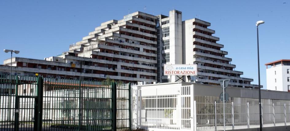 Жилой комплекс Vele di Scampia вНеаполе