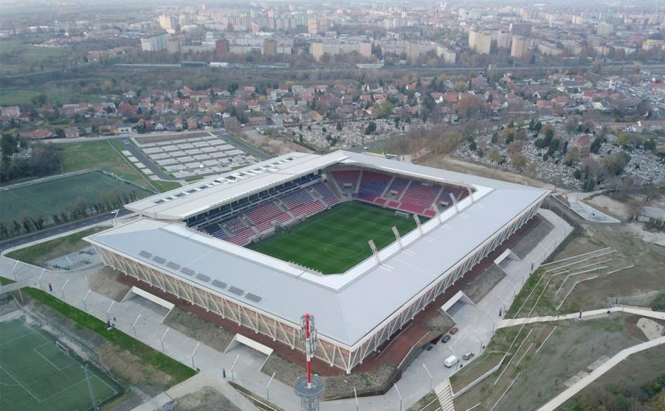 MOL Aréna Sóstó (Секешфехервар, Венгрия). Вместимость 14 201 зритель, сроки строительства — 23 ноября 2016 — 30 сентября 2018г., стоимость строительства — $50,5 млн.