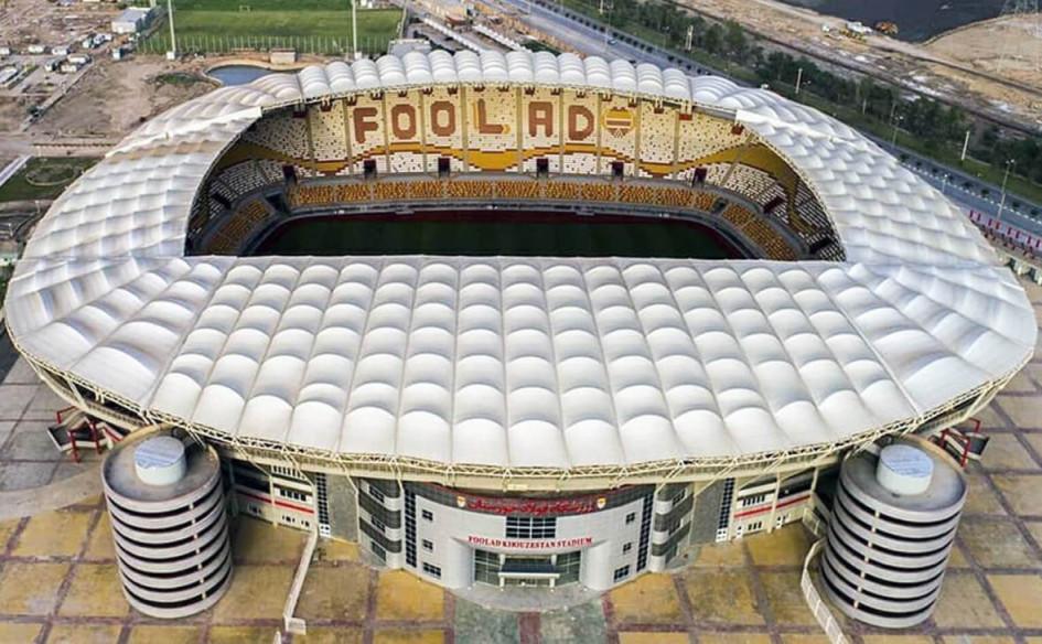 Foolad Arena (Ахваз, Иран). Вместимость 27 501 зритель, сроки строительства — 2008-2018гг., стоимость строительства — $40 млн.