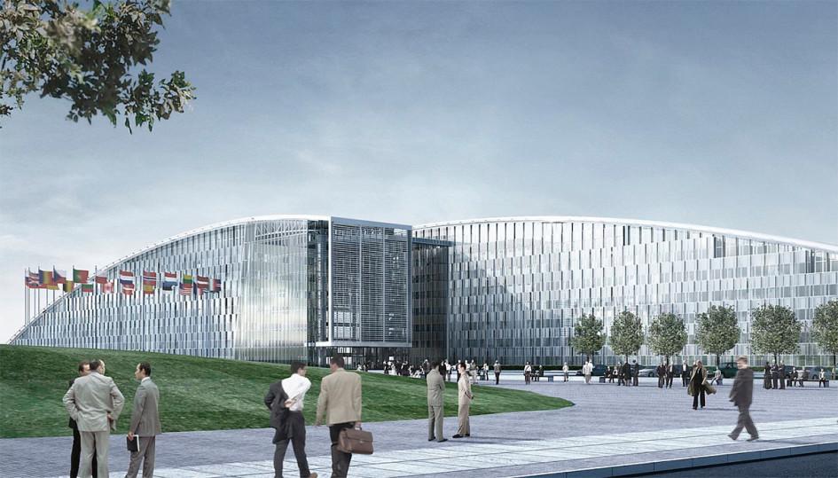 Архитектурный проект здания штаб-квартиры