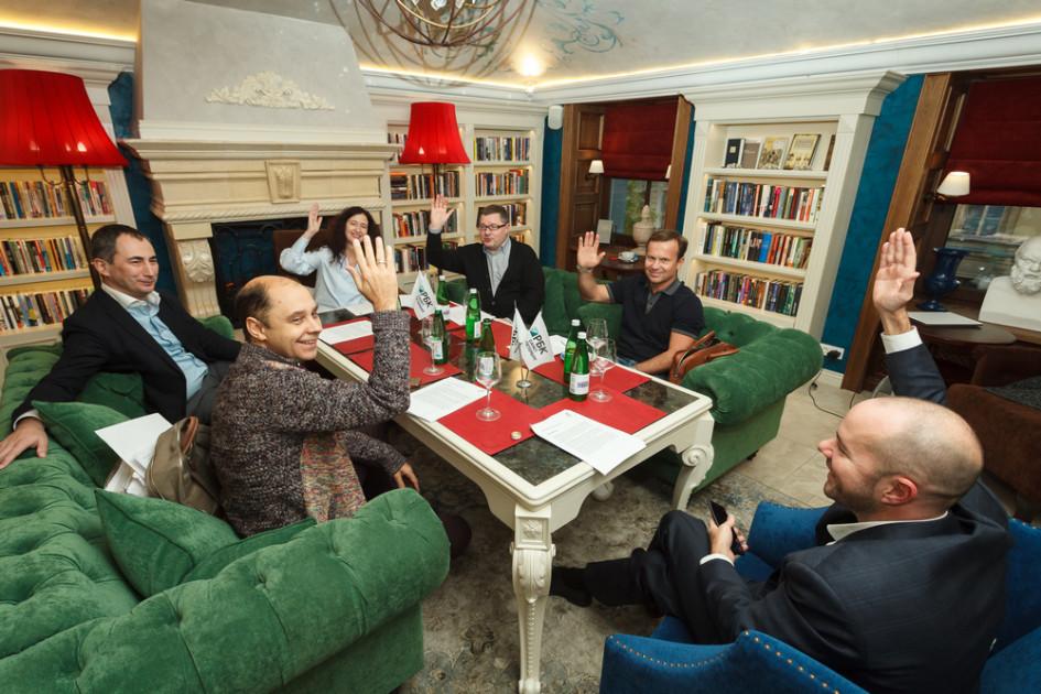 Заседание экспертного совета Премии РБК Петербург