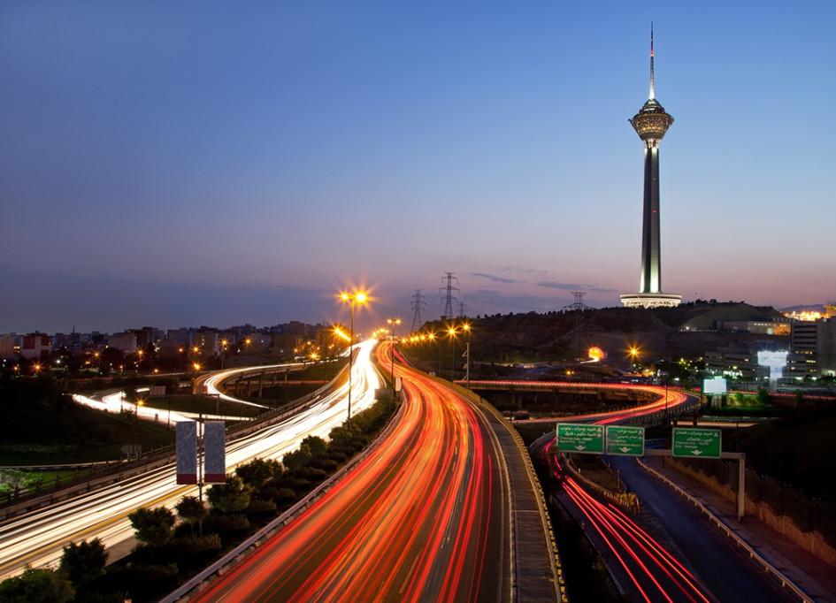 Самое высокое здание в Иране