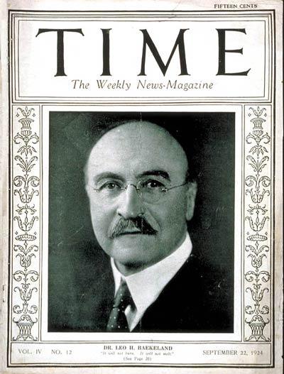 Обложка TIME за 22 сентября 1924 года с фотографией Бакеланда