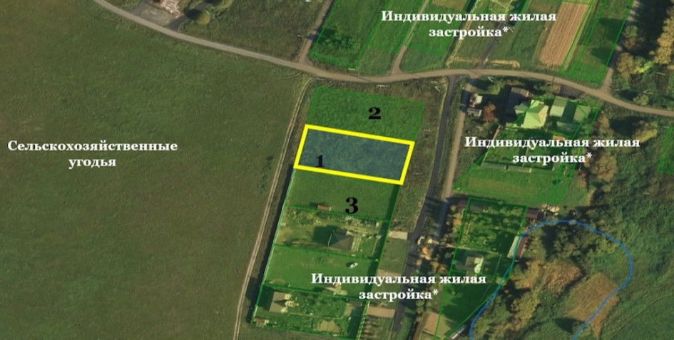 Участок с ценой аренды менее 127 тыс. руб. в год расположен в Москве, в поселке Роговское, деревня Васюнино