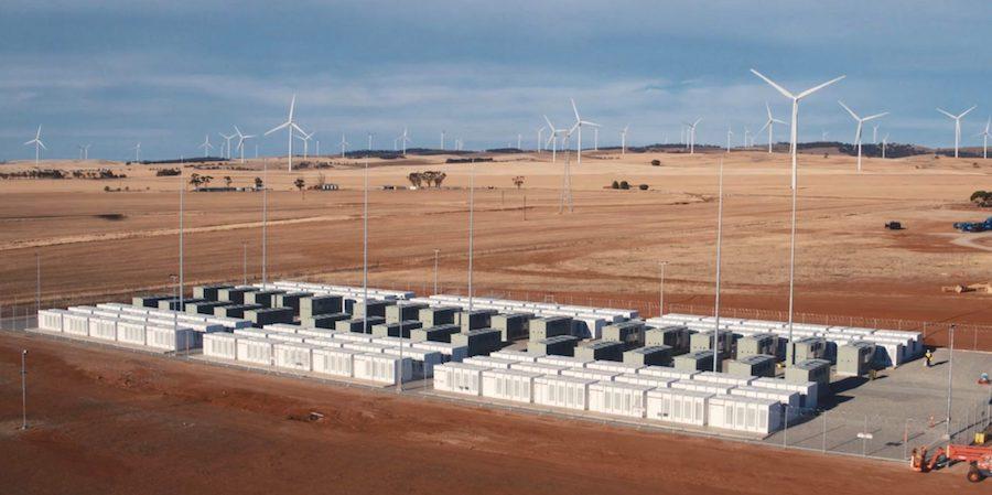 Станция Tesla в Южной Австралии