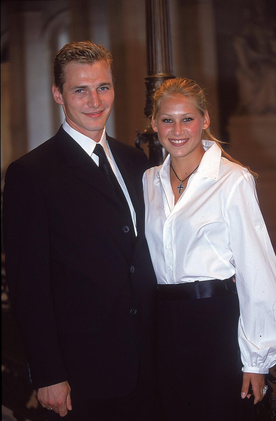 6 июня 2000. Анна Курникова и Сергей Федоров в Париже