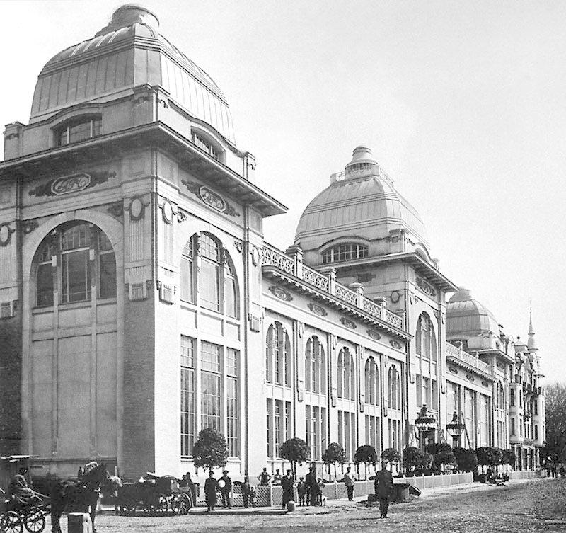 Здание ресторана «Яр» на Петербургском шоссе. Архитектор Адольф Эрихсон. 1909–1913 годы