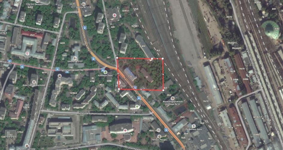 Две пятиэтажки наКаланчевской улице (Красносельскй район)