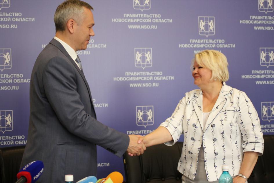 Андрей Травников подал документы на участие в выборах губернатора
