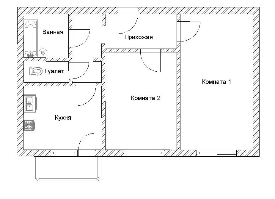В новостройках должны быть свободные планировки квартир