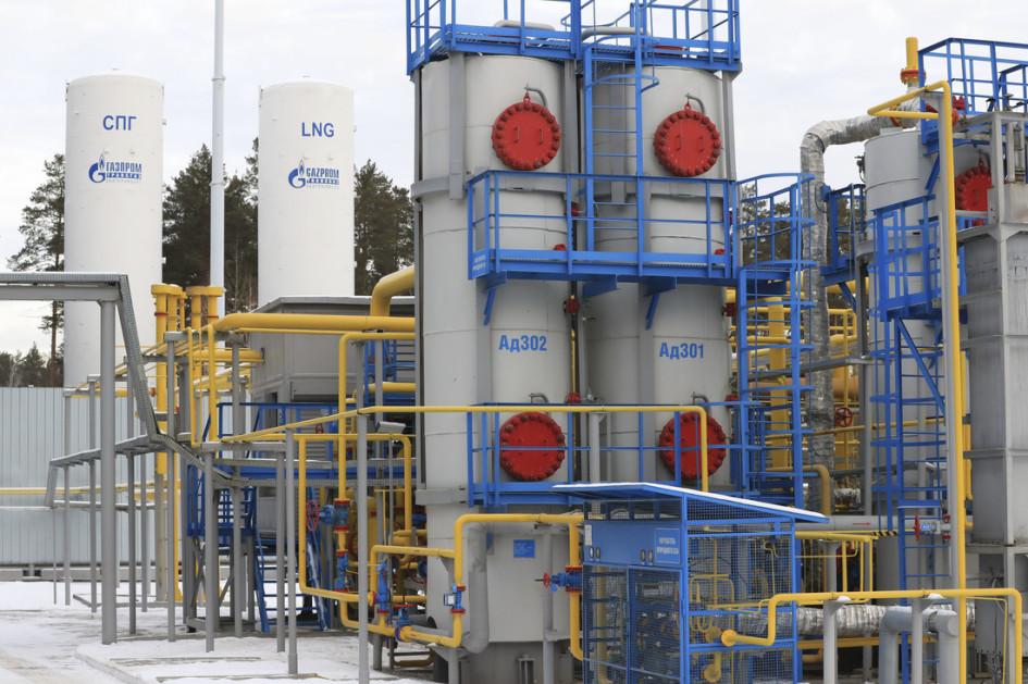 Комплекс по производству сжиженного природного газа на ГРС №4 вЕкатеринбурге