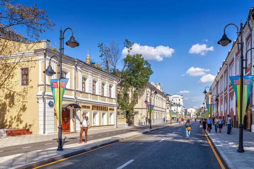 Конкуренцию Тверской сегодня составляют многочисленные пешеходные улицы столицы