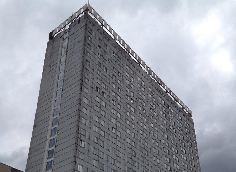 Здание бывшей гостиницы «Новосибирск»