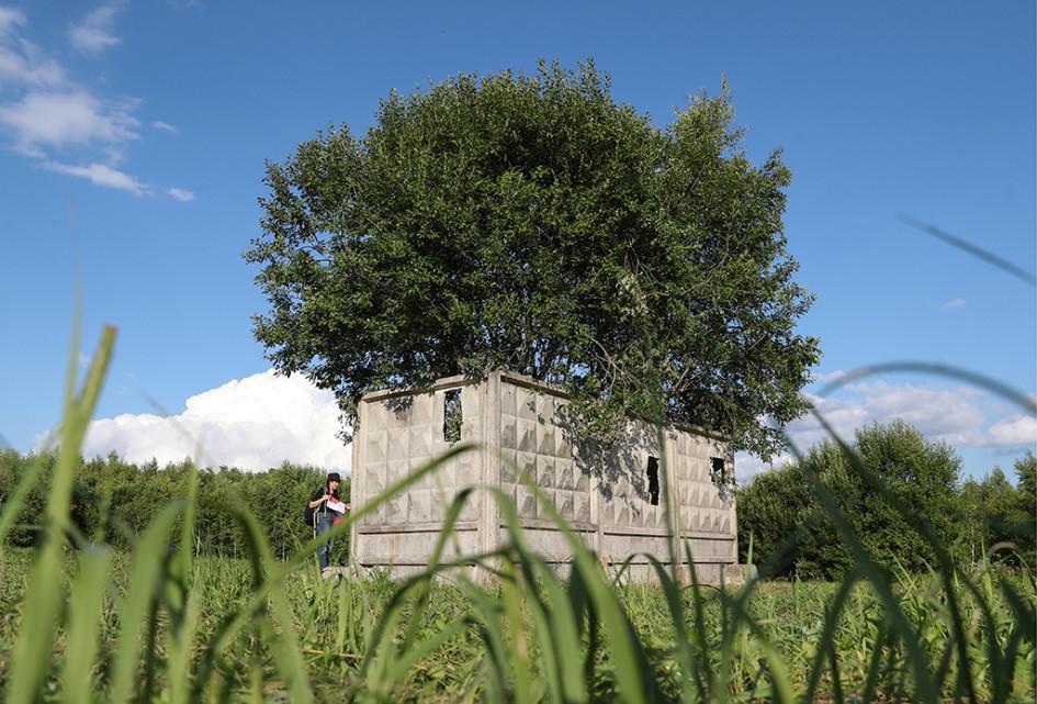 Арт-объект «Вилла ПО-2» художника Александра Бродского