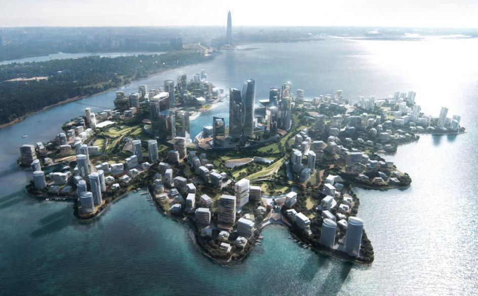 Проект «Залив островов»