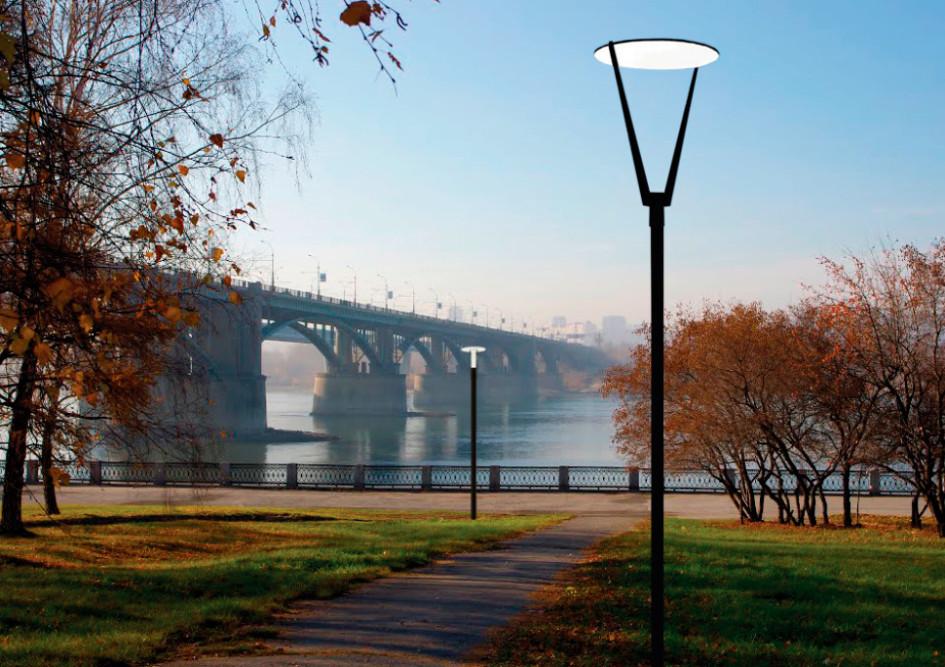 Для проекта благоустройства набережной «КБ Стрелка» подготовила новый дизайн городского освещения