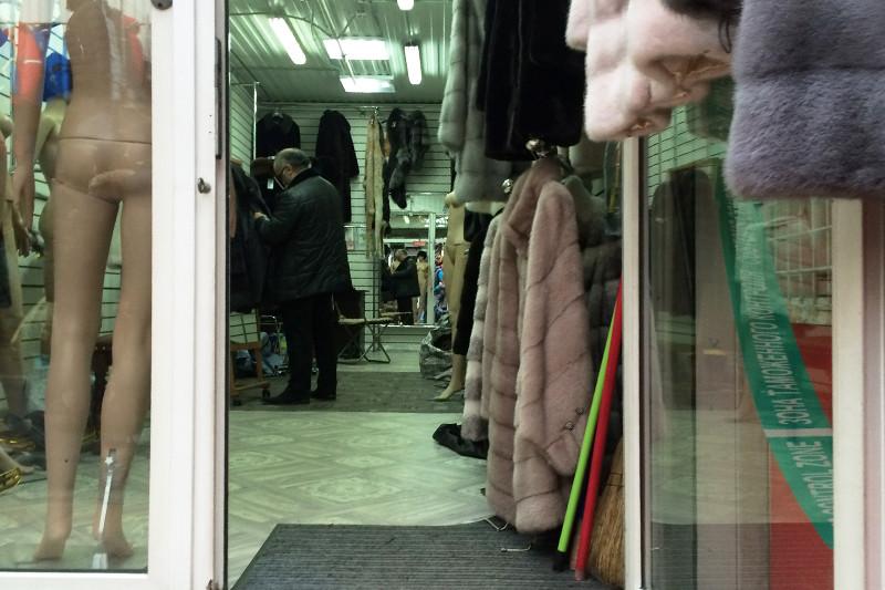 Продажа меха водном изторговых павильонов рынка «Садовод»