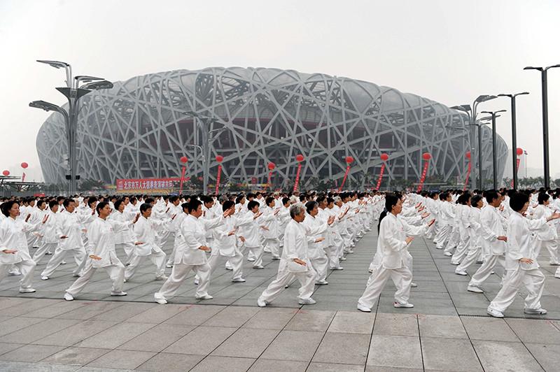 Пекинский национальный стадион в Китае