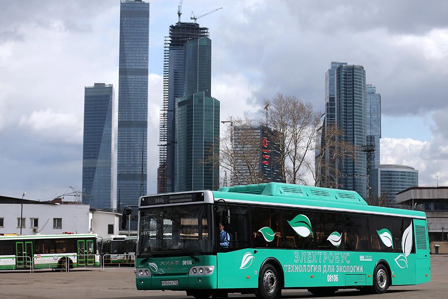 Первый российский электробус на базе литий-ионных аккумуляторов «Лиотех»