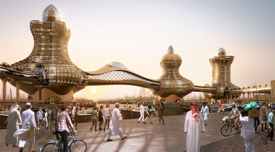 Общая площадь проекта «Аладдин-Сити» составит 110 тыс. кв. м