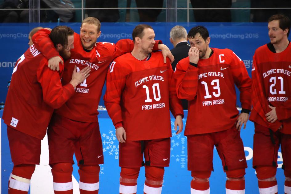 В 2018 году сборная России впервые с 1992 года выиграла золотые медали Олимпиады. Игры в Пхенчхане прошли без участия хоккеистов НХЛ
