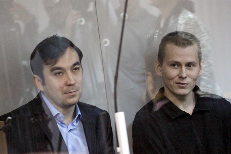 Евгений Ерофеев и Александр Александров (слева направо)