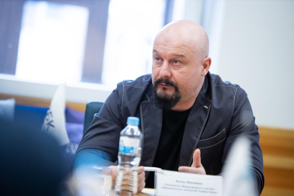 На фото: руководитель международного IT-кластера «Северо-Запад»