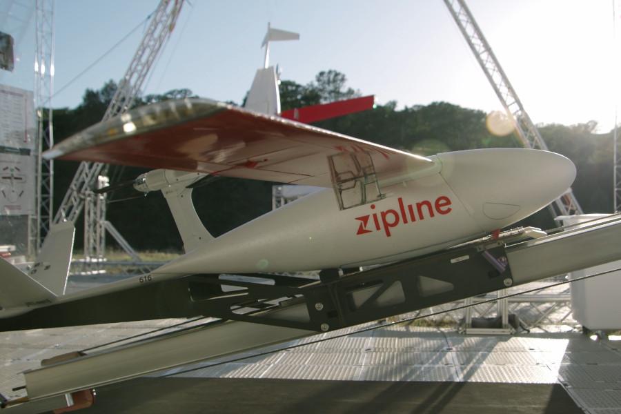 Дрон компании Zipline