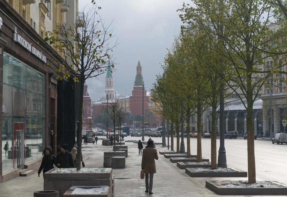 Липовая аллея на Тверской улице