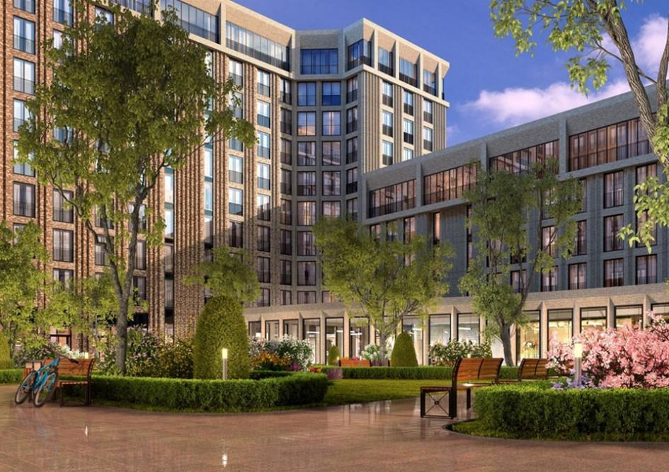 Некоторые столичные новостройки проектируются безбалконов. На фото: проект жилого комплекса «Зиларт»